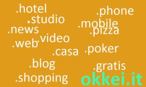 nuovi domini internet, nuove estensioni di dominio dal 2014