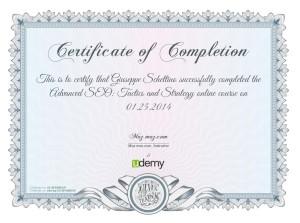 giuseppe schettino - seo ciampino certificato corso seo online