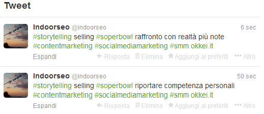 storytelling selling superbowl tweet 7-8