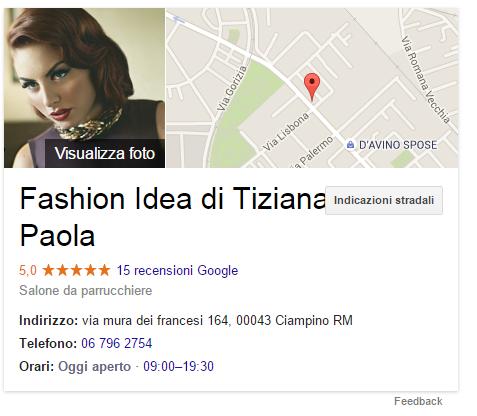 fashion idea - biglietto elettronico - 15 recensioni in due settimane