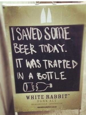 insegne di bar divertenti marketing per bar ho salvato qualche birra oggi