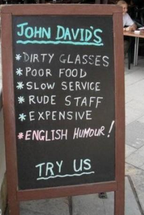 insegne di bar divertenti marketing per bar humor inglese