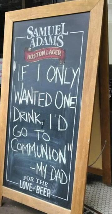 insegne di bar divertenti marketing per bar se avessi voluto una sola birra