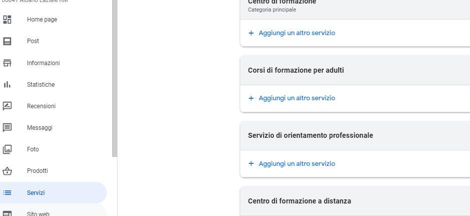 ottimizzazione scheda google my business ecco i servizi